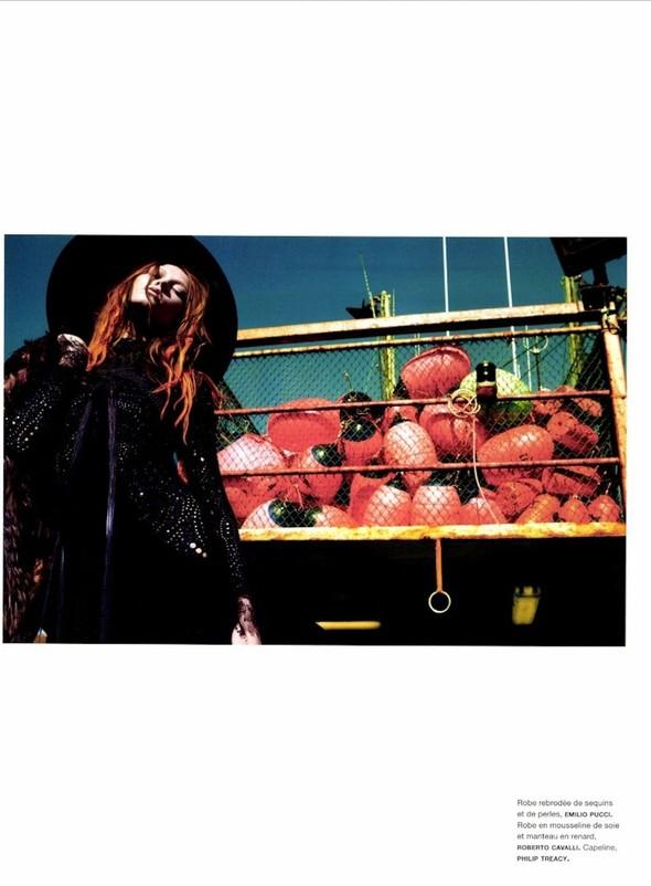 Съёмка: Карли Клосс для Numero. Изображение № 11.