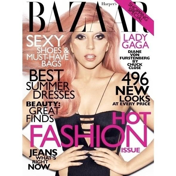 Леди Гага в платье Versace. Изображение № 1.