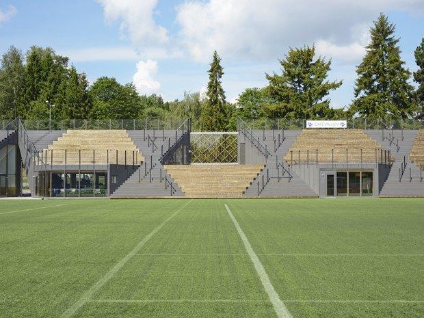 Стадион Lidingövallen авторства DinellJohansson) . Изображение № 28.