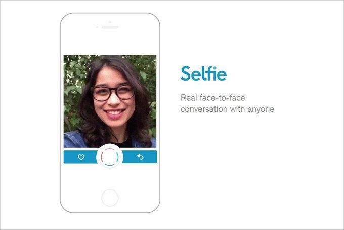 Приложение дня: мобильная соцсеть Selfie для общения видеоселфи. Изображение № 1.