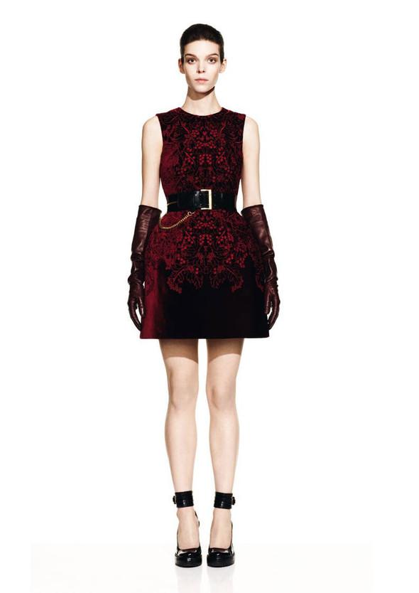 McQueen Fall 2012 Lookbook. Изображение № 23.