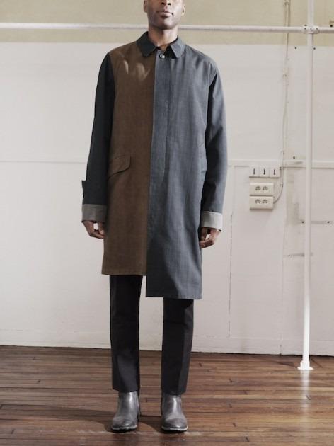 Появились новые фотографии из мужского лукбука Maison Martin Margiela для H&M. Изображение № 1.