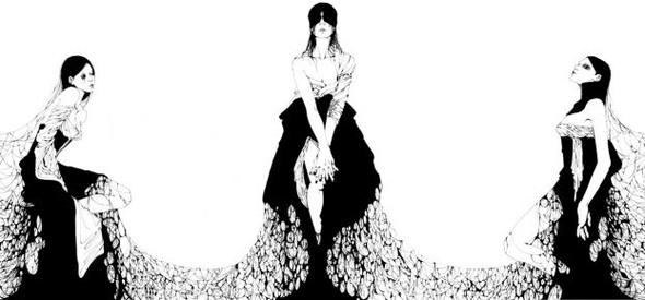 Katsuta Mako – черно-белая грация. Изображение № 8.