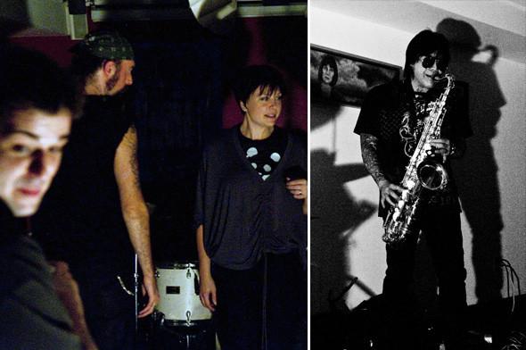 Олбани, концерт в UAG, выступление Bone Parade и Дэвида Тамура. Изображение № 12.