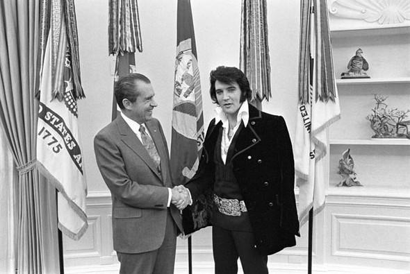 Элвис Пресли vsРичард Никсон. Историческая встреча. Изображение № 9.