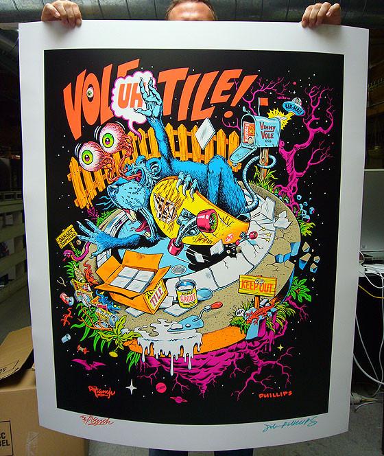 К доске: 10 художников-скейтбордистов. Изображение №90.