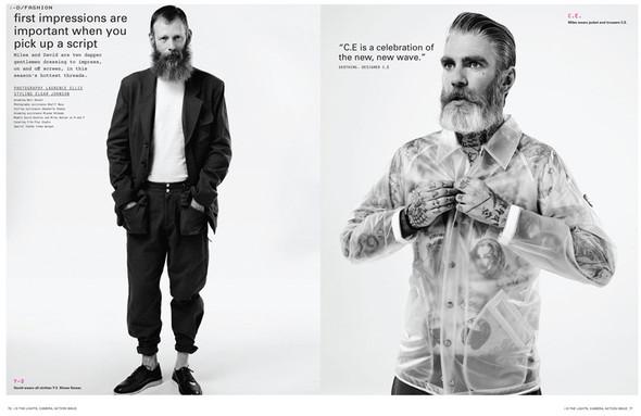 Мужские съёмки: i-D, Interview, FHM и другие. Изображение № 2.