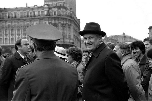 Б.Н. Ельцин, Москва, 1987 г.. Изображение № 130.