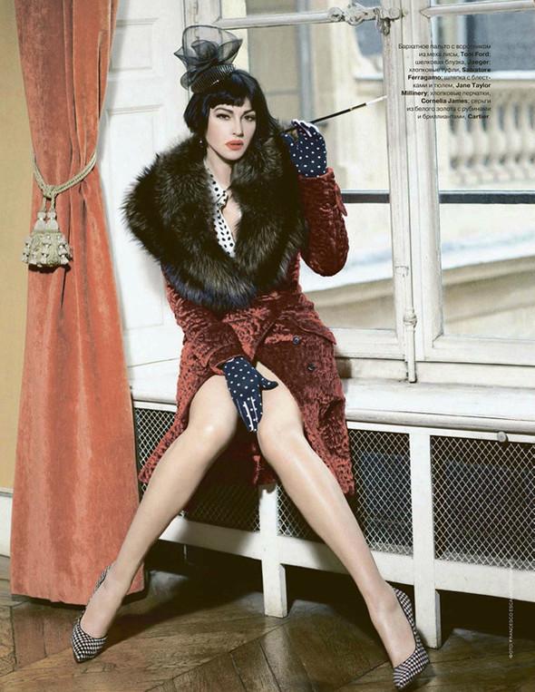 Моника Беллуччи (Monica Bellucci) в декабрьском Tatler Russia. Изображение № 3.