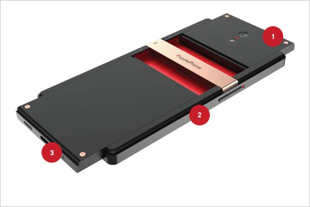 Финская компания показала новый модульный смартфон. Изображение № 1.