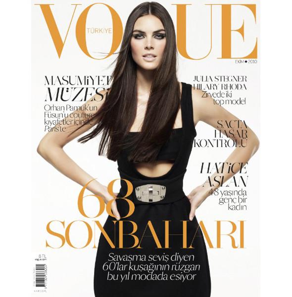 6 новых обложек Vogue: Австралия, Италия, Турция и другие. Изображение № 7.