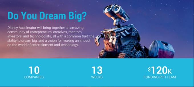 Disney запустила программу развития стартапов . Изображение № 1.