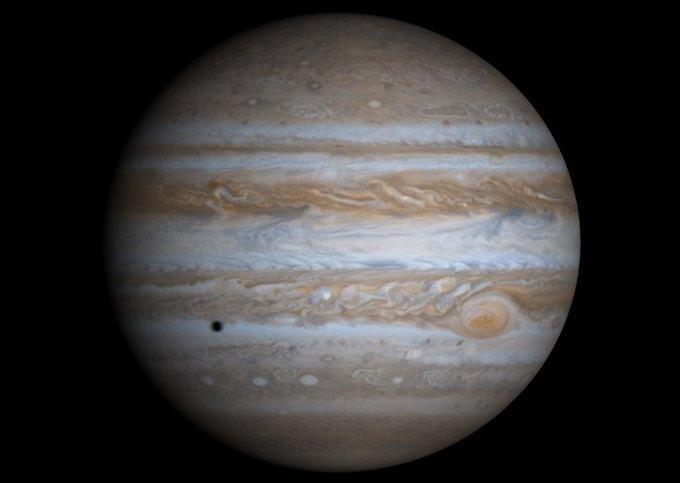 Исследование: как Юпитер повлиял на Солнечную систему. Изображение № 1.
