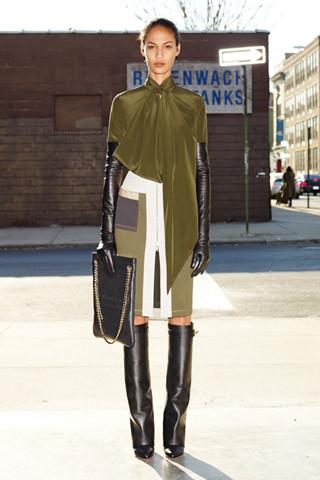 Givenchy Pre-Fall 2012. Изображение № 15.