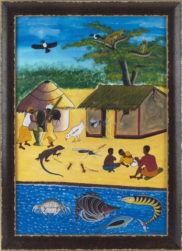 """Африканское искусство на выставке """"Раритеты"""". Изображение № 1."""