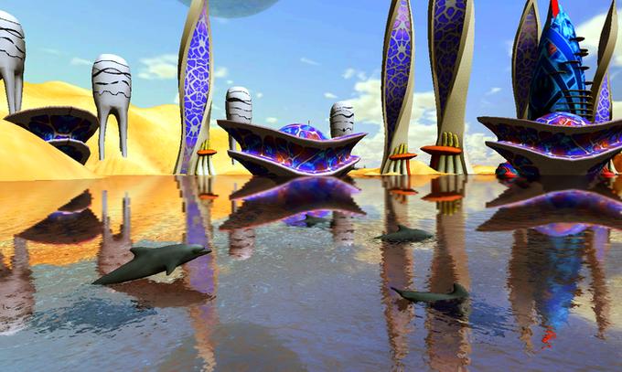 Российские музыканты записали саундтрек для сипанк-игры про дельфина. Изображение № 1.