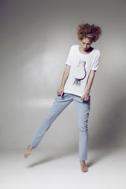 Изображение 1. Лукбук: домашняя одежда от LowFat F/W 2010-2011.. Изображение № 1.