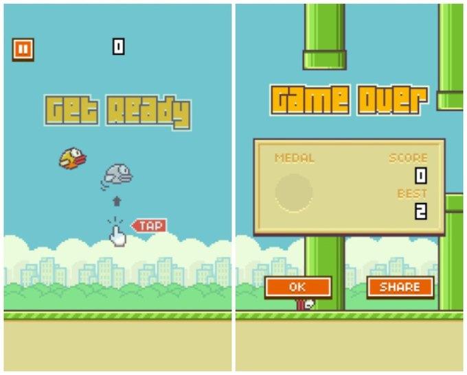 Создатель Flappy Bird удалил игру из AppStore. Изображение № 1.