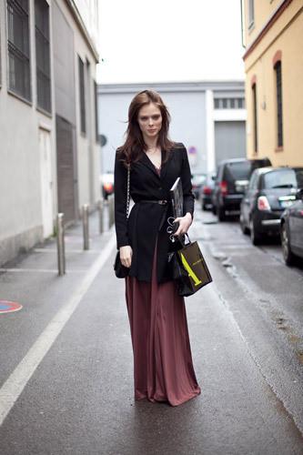 Нерабочее время: Блоги об уличном стиле моделей. Изображение № 8.