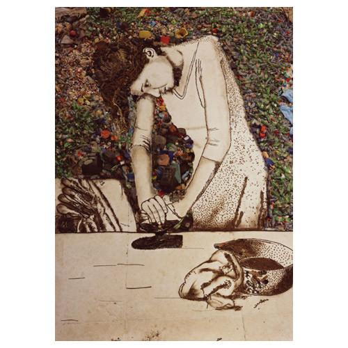 Картины из мусора. Изображение № 11.
