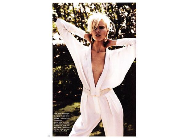Бритт Марен в немецком Vogue, апрель 2011 . Изображение № 12.