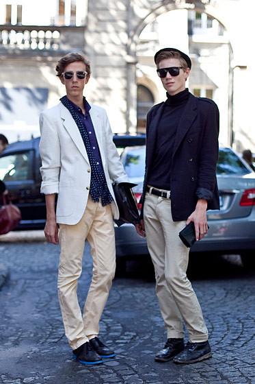 Уличный стиль на Неделе высокой моды в Париже. Изображение № 70.