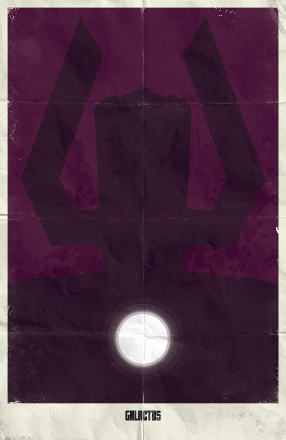 Минималистичные постеры для Marvel Comics. Изображение № 16.