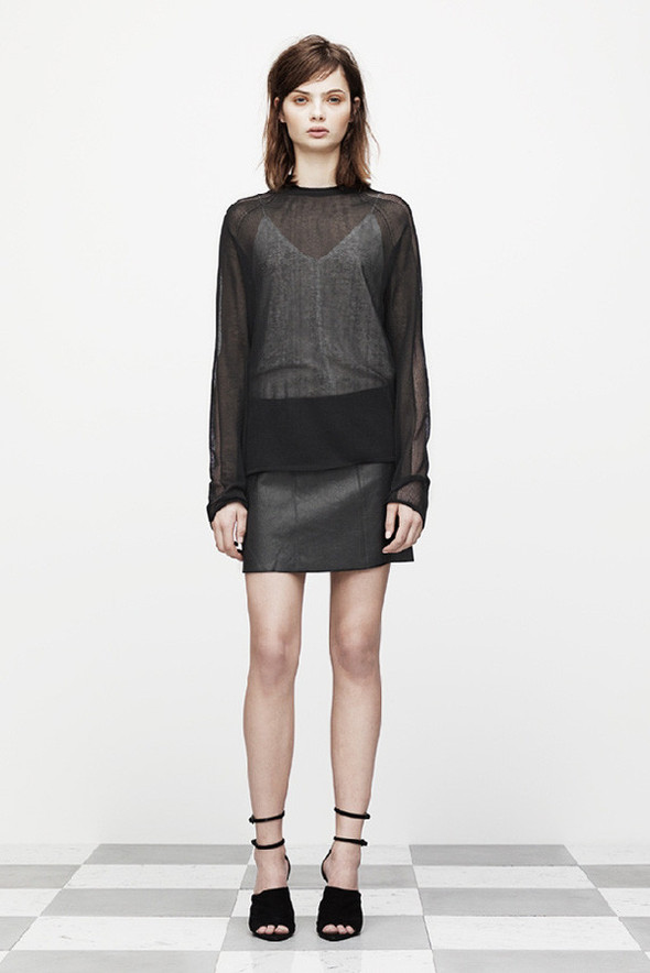 Лукбук: T by Alexander Wang Pre-Fall 2012. Изображение № 1.
