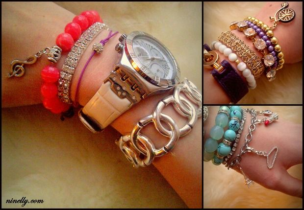 Новый тренд: Arm candy, Arm party или Bracelet stacking. Изображение № 22.