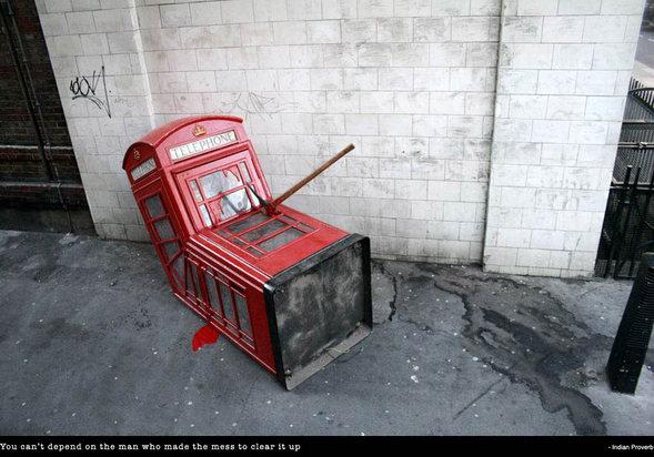 Изображение 28. Banksy (уличная мышь – герой).. Изображение № 28.