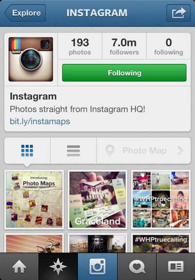 Фото на Instagram теперь можно привязывать к карте. Изображение №4.