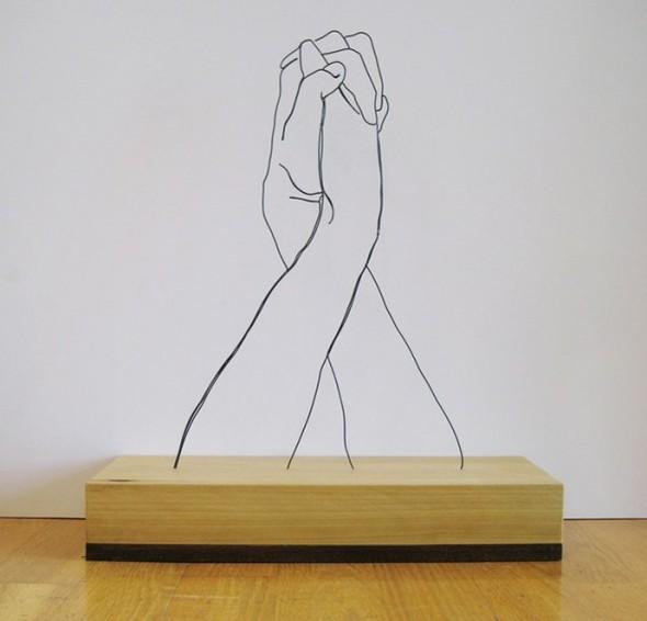 Скульптуры из проволоки Гэвина Ворта. Изображение № 10.