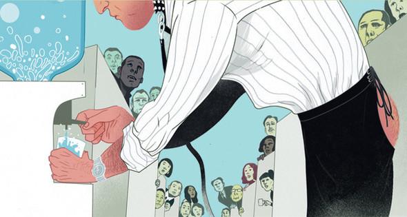 Рисунки американского иллюстратора Марко Шина.. Изображение № 23.