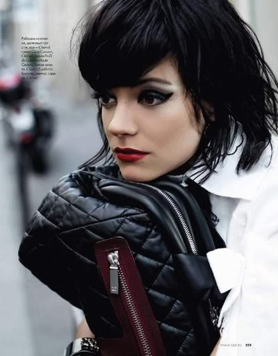 Lily Allen by Karl Lagerfeld for Elle december09. Изображение № 5.