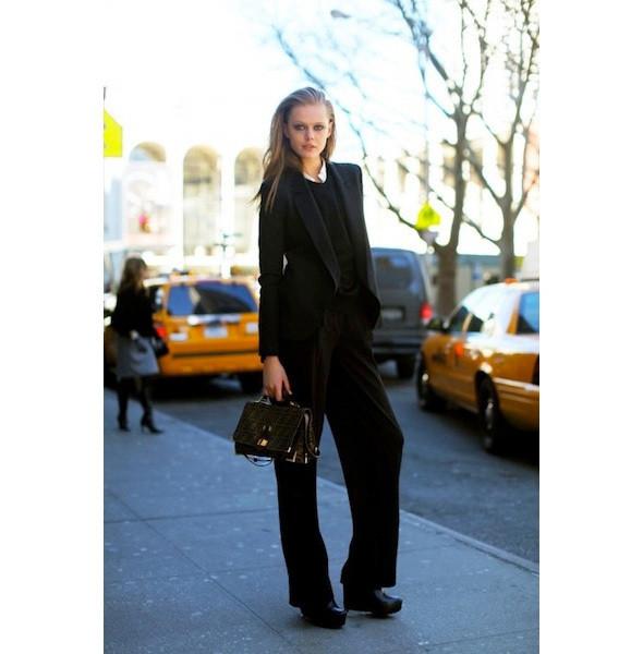 Изображение 155. На полях: 10 тенденций уличного стиля с прошедших недель моды.. Изображение № 155.