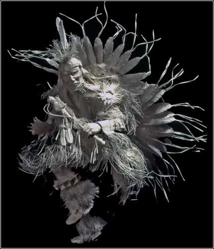 Бумажные скульптуры. Изображение № 13.