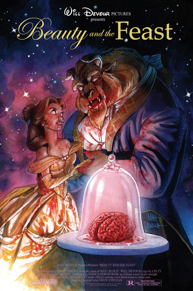 15 зомби-постеров известных фильмов. Изображение № 2.