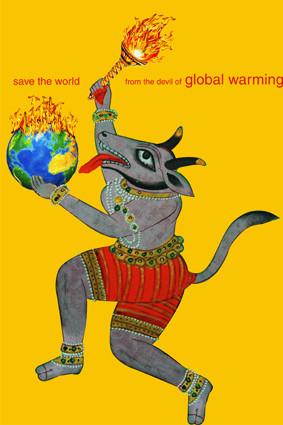 Международная триеннале экологического плаката «4-й Блок». Изображение № 3.