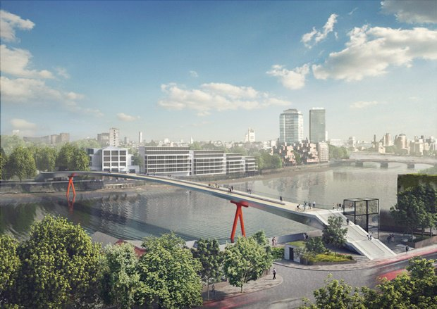 Выложены 74 проекта нового моста через Темзу. Изображение № 34.