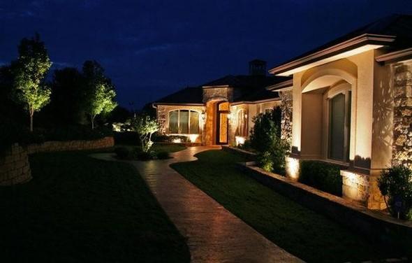 Ландшафтные светильники в роли садового освещения . Изображение № 2.