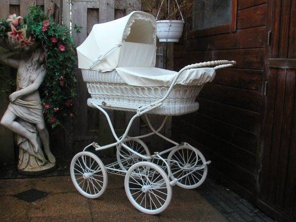 Ретро – kinderwagen, stroller илидетская коляска. Изображение №2.
