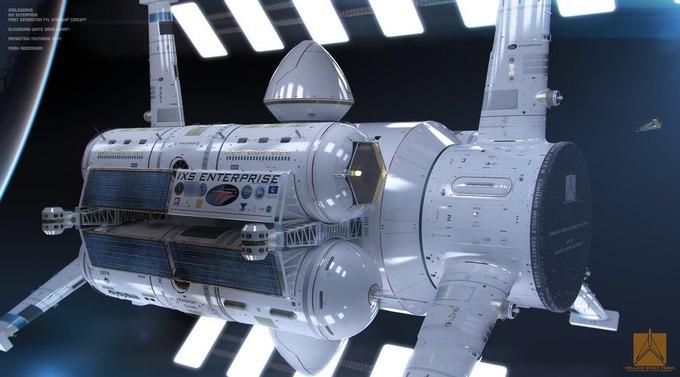 Опубликован концепт корабля NASA с варп-двигателем . Изображение № 5.