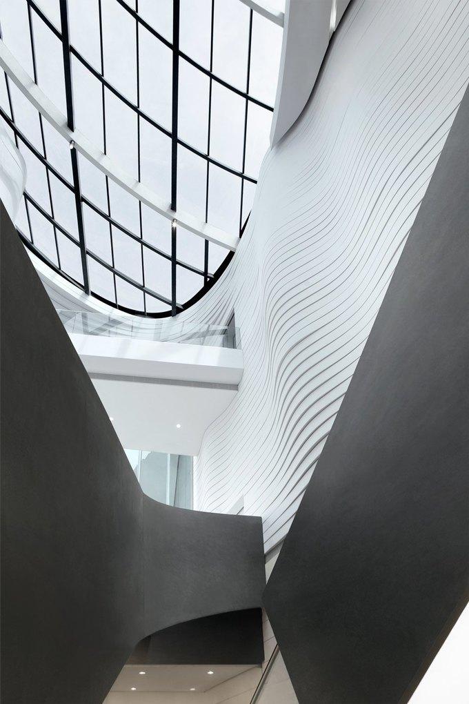 Архитектура дня: музей в Китае сбелым «слоёным» фасадом. Изображение № 15.