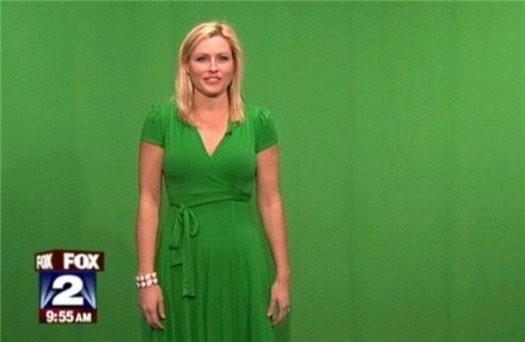 Почему метеорологам нельзя носить зеленую одежду?. Изображение № 5.