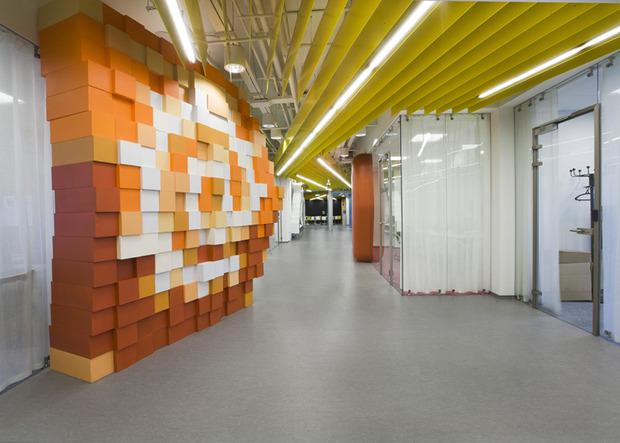 Появились фотографии нового офиса «Яндекса» в Санкт-Петербурге. Изображение № 4.