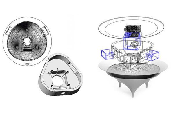 Изображение 4. Голос из ниоткуда: кофейный столик со встроенными динамиками.. Изображение № 4.