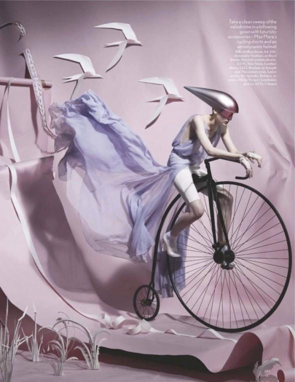 Съемки: Vogue, Elle, Tush и другие. Изображение № 5.