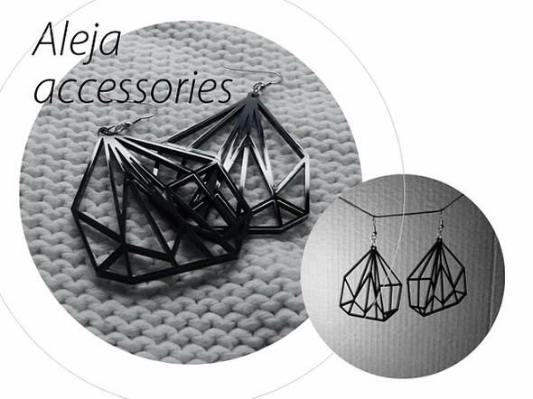 Aleja accessories - серьги из акрила. Сам себе дизайнер. Изображение № 7.