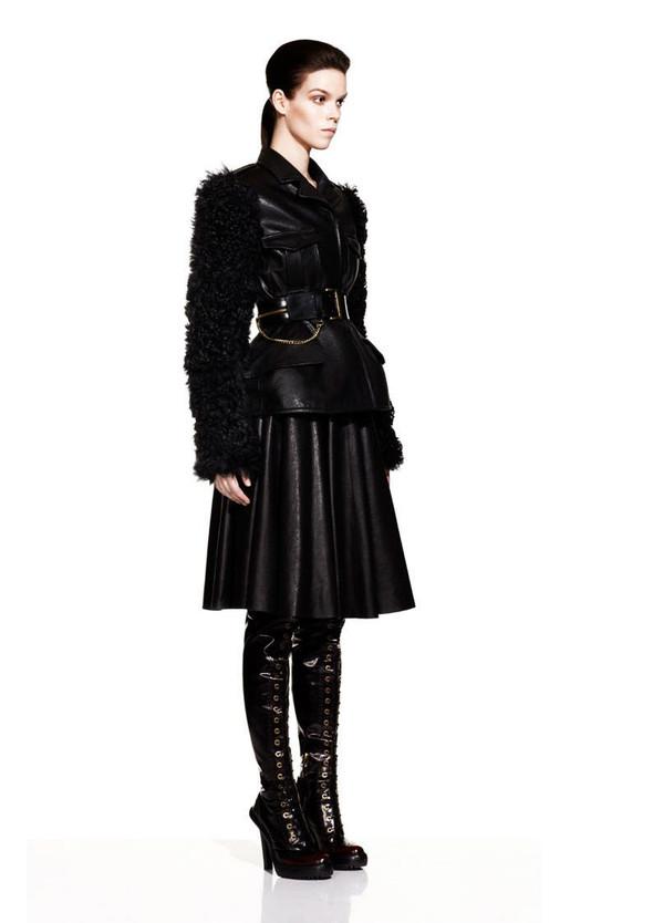 McQueen Fall 2012 Lookbook. Изображение № 6.