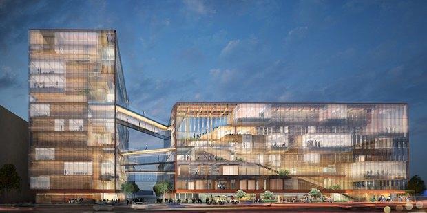 Uber представил проект будущей штаб-квартиры в Сан-Франциско. Изображение № 1.